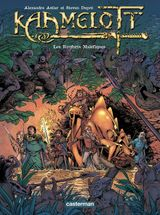 Couverture Les Renforts maléfiques - Kaamelott, tome 9
