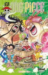 Couverture Les Rêves des guerriers - One Piece, tome 94