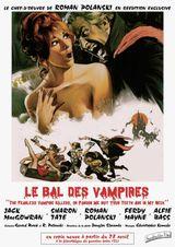 Affiche Le Bal des vampires