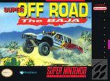 Jaquette Super Off Road : The Baja