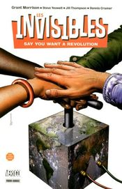 Couverture Say You Want a Revolution - The Invisibles (1994), tome 1