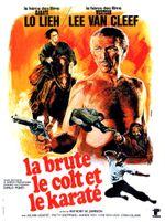 Affiche La Brute, le Colt et le Karaté