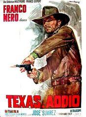 Affiche Texas, Adios