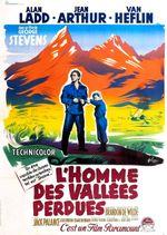 Affiche L'Homme des vallées perdues