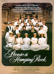 Affiche Pique-nique à Hanging Rock