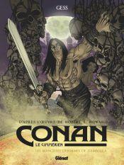 Couverture Les Mangeurs d'hommes de Zamboula - Conan le Cimmérien, tome 9