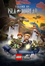 Affiche LEGO Jurassic World : La Légende d'Isla Nublar