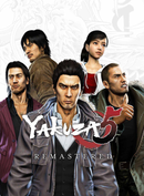 Jaquette Yakuza 5 Remastered