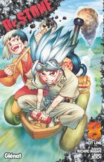 Couverture Hot Line - Dr. Stone, tome 8