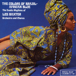 Pochette The Colors of Brazil / African Blue