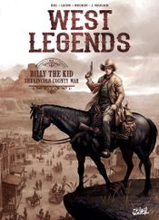 Couverture West Legends, tome 2 : Billy The Kid - The Lincoln County War