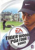 Jaquette Tiger Woods PGA Tour 2003