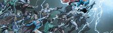 Cover Chronologie DC Comics Rebirth