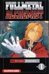 Couverture Fullmetal Alchemist