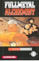 Couverture Fullmetal Alchemist, tome 4