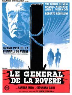 Affiche Le Général de la Rovere