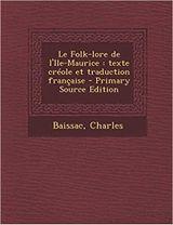 Couverture Le folk-lore de l'Île-Maurice