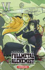 Couverture Fullmetal Alchemist (Édition reliée), tome 6