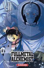 Couverture Fullmetal Alchemist (Édition reliée), tome 7