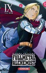 Couverture Fullmetal Alchemist (Édition reliée), tome 9