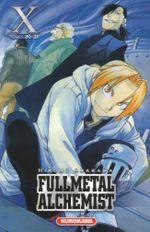 Couverture Fullmetal Alchemist (Édition reliée), tome 10