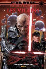 Couverture Star Wars - L'Ère de la Résistance : Les Vilains