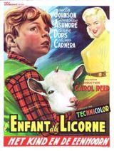 Affiche L'Enfant et la Licorne