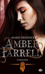 Couverture L'origine: Amber Farrell, T0