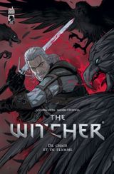Couverture De Chair et de Flamme - The Witcher, tome 2