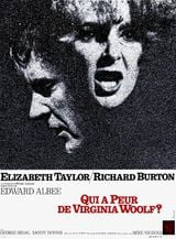 Affiche Qui a peur de Virginia Woolf ?