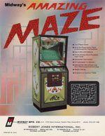 Jaquette Amazing Maze