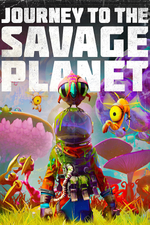 Jaquette Journey to the Savage Planet