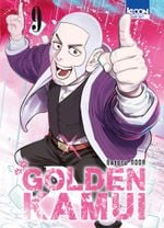 Couverture Golden Kamui, tome 9