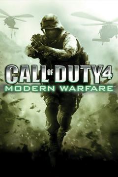 Jaquette Call of Duty 4: Modern Warfare