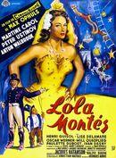 Affiche Lola Montès