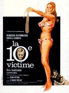 Affiche La Dixième Victime
