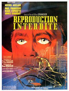 Affiche Reproduction interdite