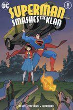 Couverture Superman Smashes the Klan