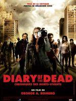 Affiche Diary of the Dead, chronique des morts vivants