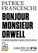 Couverture Bonjour, monsieur Orwell