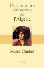 Couverture Dictionnaire amoureux de l'Algérie