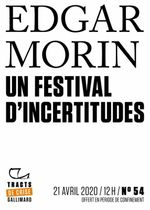 Couverture Un Festival d'incertitudes