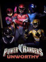 Affiche Power Rangers Unworthy