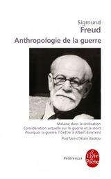 Couverture Anthropologie de la guerre
