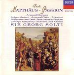 Pochette Matthäus-Passion: Arias and Chorusses