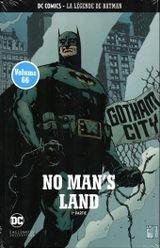 Couverture No Man's Land (1re partie) - La Légende de Batman, tome 66