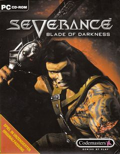 Jaquette Severance : Blade of Darkness