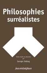 Couverture Philosophies surréalistes