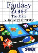 Jaquette Fantasy Zone : The Maze