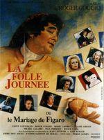 Affiche La Folle Journée ou Le Mariage de Figaro